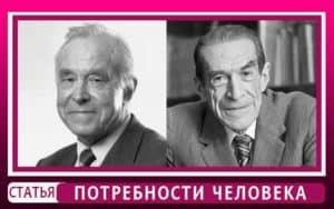 Потребности в психологии это? Классификация Симонова П.В. Взгляды Леонтьева А.Н.